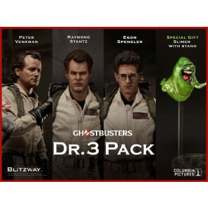 Blitzway 1/6th Scale BW-UMS10105 Ghostbusters 1984: Dr. 3-Pack