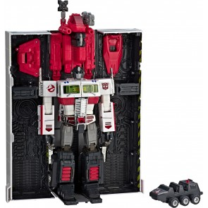 Takaratomy Transformers Masterpiece MP-10G Ghostbusters Optimus Prime Ecto-35 (SDCC Exclusive)
