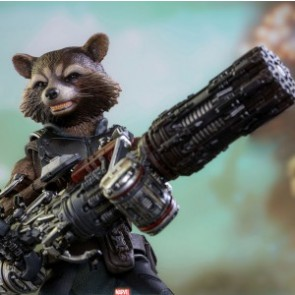 Hot Toys 1/6th Scale MMS411 Guardians of the Galaxy Vol. 2: Rocket Deluxe Figure