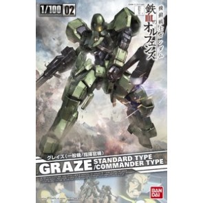 Bandai 1/100 Scale 02 Graze (Normal Type / Commander Type)