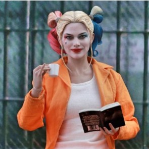 Hot Toys 1/6th Scale MMS407 Suicide Squad Harley Quinn (Prisoner Version) Collectible Figure