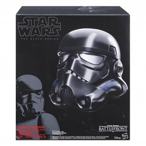Hasbro Star Wars Black Series Shadow Stormtrooper Electronic Voice Changer Helmet