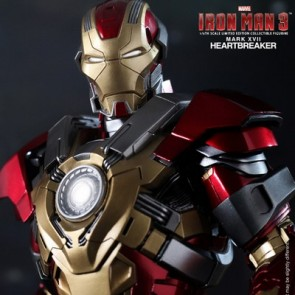 Hot Toys 1/6th Scale Iron Man 3 Heartbreaker Mark 17 Collectible Figure