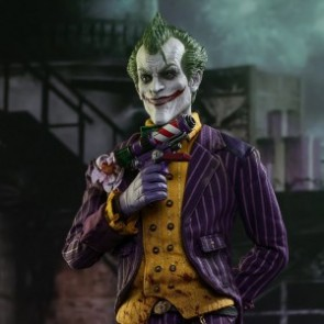 Hot Toys 1/6th Scale VGM27 Batman: Arkham Asylum The Joker Figure