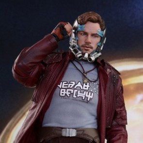 Hot Toys 1/6th Scale MMS421 Guardians of the Galaxy Vol. 2 Star-Lord Figure (Deluxe Version)