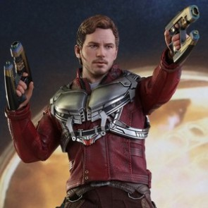 Hot Toys 1/6th Scale MMS420 Guardians of the Galaxy Vol. 2 Star-Lord Collectible Figure