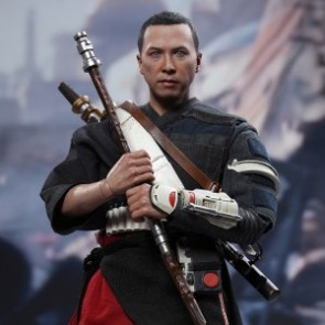 Hot Toys 1/6th Scale MMS402 Rogue One: A Star Wars Story Chirrut Îmwe Collectible Figure