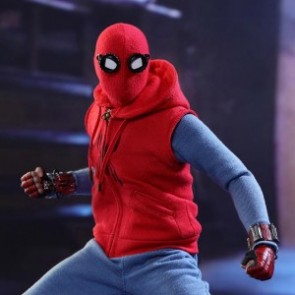 Hot Toys 1/6th Scale MMS414 Spider-Man: Homecoming (Homemade Suit Version) Figure