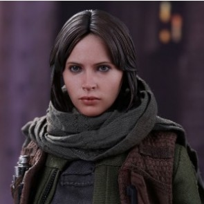 Hot Toys 1/6th Scale MMS404 Rogue One: A Star Wars Story Jyn Erso Collectible Figure