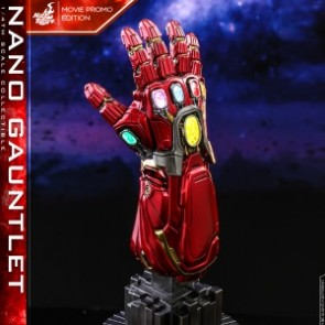 Hot Toys 1/4th Scale ACS008 Avengers: Endgame Nano Gauntlet (Movie Promo Edition) Collectible
