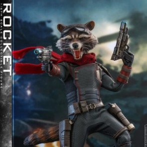 Hot Toys 1/6th Scale MMS548 Avengers: Endgame Rocket Collectible Figure