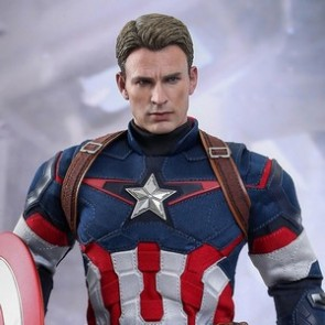 Hot Toys 1/6th Scale Avengers Age of Ultron Captain America Figure