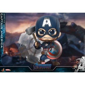 Hot Toys COSB645 Captain America (Battling Version) Cosbaby (S) Bobble-Head