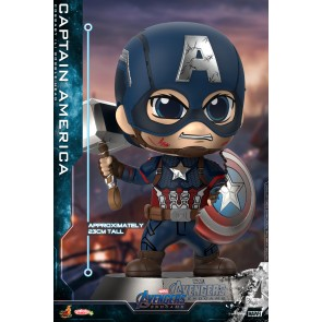 Hot Toys COSB659 Captain America Cosbaby (L) Bobble-Head