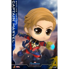 Hot Toys COSB663 Captain Marvel (Battling Version) Cosbaby (S) Bobble-Head
