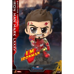 Hot Toys COSB651 Iron Man Mark LXXXV (Battling Version) Cosbaby (S) Bobble-Head
