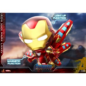 Hot Toys COSB648 Iron Man Mark LXXXV (Nano Lightning Refocuser Version) Cosbaby (S) Bobble-Head