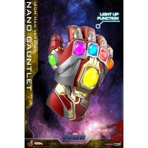 Hot Toys COSB646 Nano Gauntlet (Iron Man Version) Cosbaby (S) Bobble-Head
