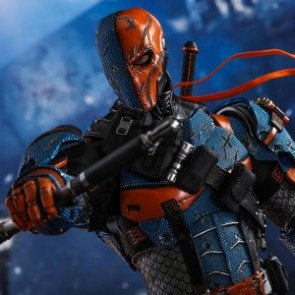 Hot Toys 1/6th Scale VGM30 Batman: Arkham Origins Deathstroke Collectible Figure