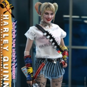 Hot Toys 1/6th Scale MMS566 Birds of Prey: Harley Quinn (Caution Tape Jacket Version) Figure