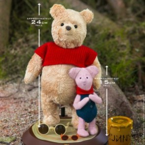 Hot Toys 1/6th Scale MMS503 Christopher Robin Winnie the Pooh and Piglet Collectible Set