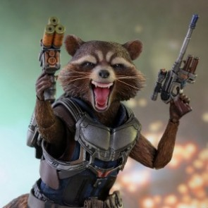 Hot Toys 1/6th Scale MMS410 Guardians of the Galaxy Vol. 2: Rocket Collectible Figure