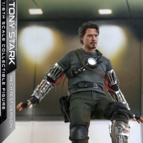 Hot Toys 1/6th Scale MMS581 Iron Man Tony Stark (Mech Test Version) Collectible Figure
