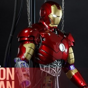Hot Toys 1/6th Scale DS003 Iron Man Mark III (Construction Version) Collectible