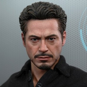 Hot Toys 1/6th Scale Tony Stark with Arc Reactor Creation Accessories Set