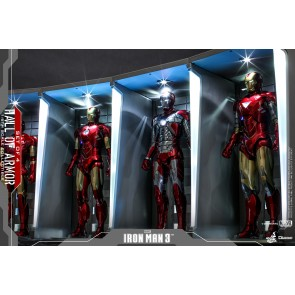 Hot Toys 1/6th Scale DS001 Iron Man 3 Hall of Armor Collectible (Set of 4)