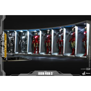 Hot Toys 1/6th Scale DS001 Iron Man 3 Hall of Armor Collectible (Set of 7)