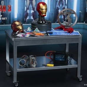 Hot Toys 1/6th Scale Iron Man 3 Workshop Accessories Collectible Set