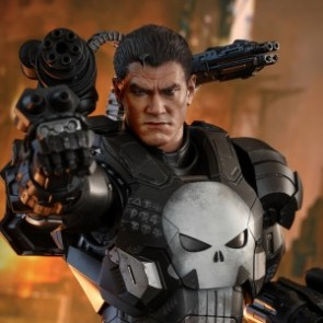 Hot Toys 1/6th Scale VGM33D28 MARVEL Future Fight The Punisher (War Machine Armor) Figure