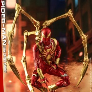 Hot Toys 1/6th Scale VGM38 Marvel's Spider-Man (Iron Spider Armor) Collectible Figure