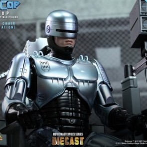 Hot Toys MMS203D05 1/6th Scale RoboCop with Mechanical Chair (Docking Station)