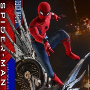 Hot Toys 1/4th Scale QS015 Spider-Man: Homecoming Spider-Man Figure (Deluxe Version)