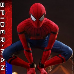Hot Toys 1/4th Scale QS014 Spider-Man: Homecoming Spider-Man Collectible Figure