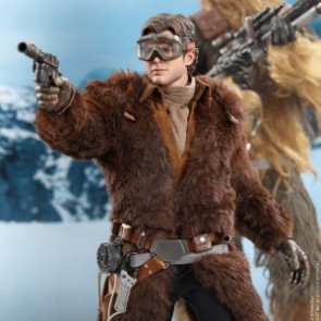 Hot Toys 1/6th Scale MMS492 Han Solo Collectible Figure (Deluxe Version)