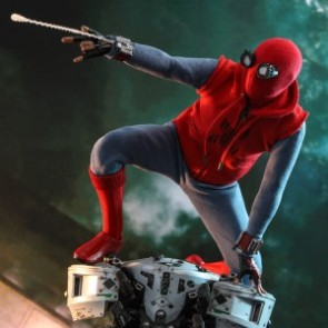 Hot Toys 1/6th Scale MMS552 Spider-Man: Far From Home Spider-Man (Homemade Suit Version) Collectible Figure