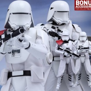 Hot Toys 1/6th Scale MMS323 Star Wars The Force Awakens First Order Snowtrooper Collectible Set