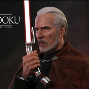 Hot Toys 1/6th Scale MMS496 Star War Episode II: Attack of the Clones Count Dooku Figure