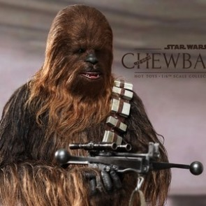 Hot Toys 1/6th Scale Star Wars Episode IV A New Hope Chewbacca Collectible Figure