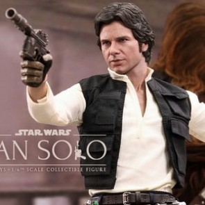 Hot Toys 1/6th Scale Star Wars Episode IV A New Hope Han Solo Collectible Figure