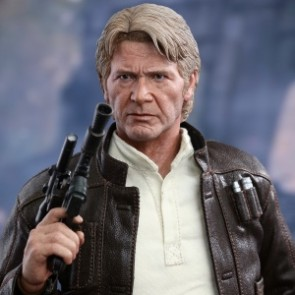 Hot Toys MMS374 1/6th Scale Star Wars: The Force Awakens Han Solo Figure