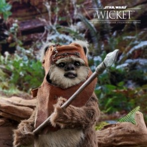 Hot Toys 1/6th Scale MMS550 Star Wars: Return of the Jedi Wicket Figure