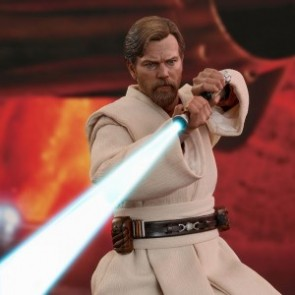Hot Toys 1/6th Scale MMS477 Star Wars: Episode III Revenge of the Sith Obi-Wan Kenobi Figure