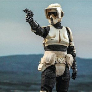 Hot Toys 1/6th Scale TMS016 The Mandalorian: Scout Trooper Collectible Figure