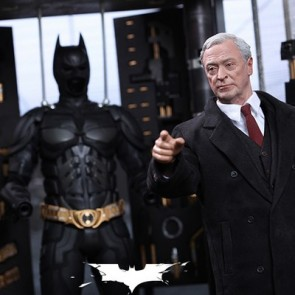 Hot Toys 1/6th Scale MMS235 Batman Armory (with Alfred Pennyworth Figure) Collectible Set
