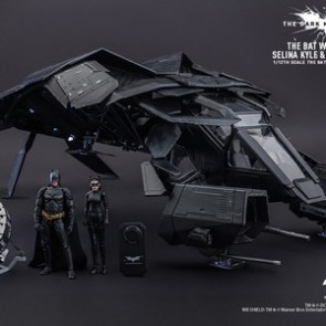 Hot Toys 1/12 Scale MMSC002 The Dark Knight Rises The Bat Collectible Deluxe Set