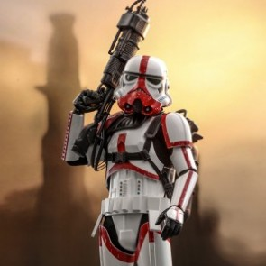 Hot Toys 1/6th Scale TMS012 The Mandalorian: Incinerator Stormtrooper Collectible Figure